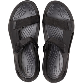 Crocs Swiftwater Expedition Sandalias Mujer, negro